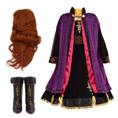Conjunto disfraz infantil Anna, Frozen 2, Disney Store