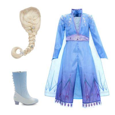 Disney Store Elsa Costume Collection For Kids, Frozen 2