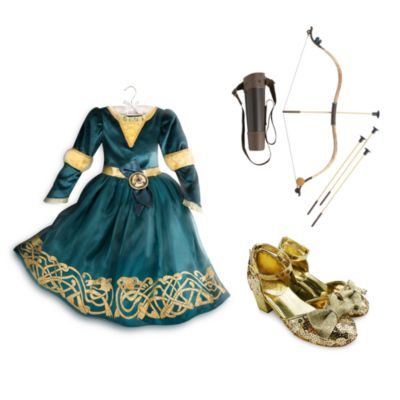 Disney Store Merida Costume Collection For Kids, Brave