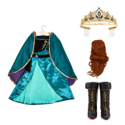 Disney Store - Die Eiskönigin2 - Königin Anna - Kostümset für Kinder