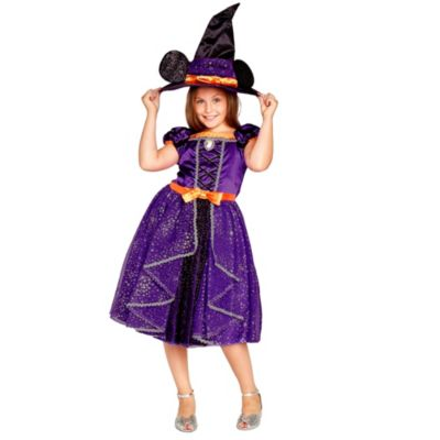 Disney Store Minnie Mouse Witch Costume For Kids
