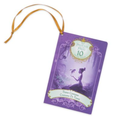 Disney Store Déguisement Tiana pour enfants, La Princesse et la Grenouille