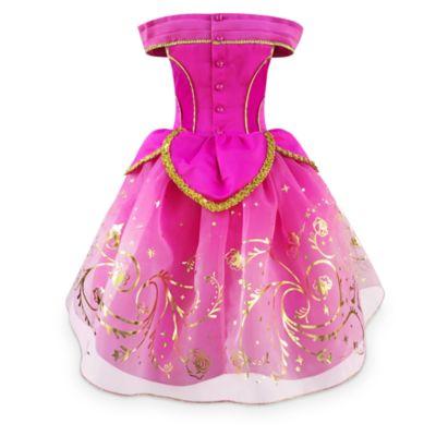 Disney Store - Dornröschen - Aurora - Kostüm Deluxe für Kinder