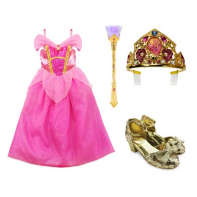 Disney Store Aurora Costume Collection For Kids, Sleeping Beauty