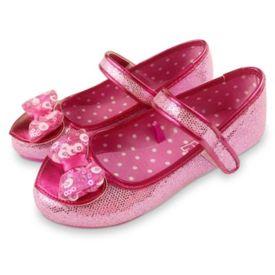 Zapatos para disfraz infantil rosa Minnie Mouse, Disney Store