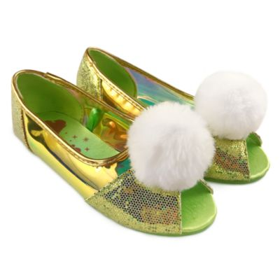 Disney Store Tinker Bell Costume Shoes For Kids