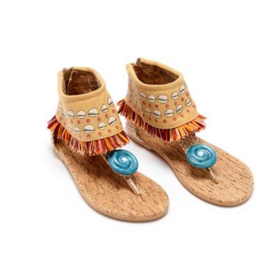 Chaussures de déguisement Vaiana pour enfants, Disney Store