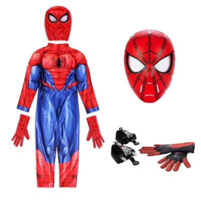 Disney Store Spider-Man Costume Collection for Kids