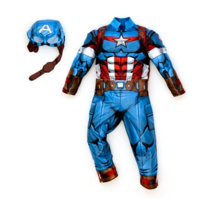 Disfraz infantil Capitán América, Disney Store