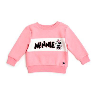 Felpa bimbi e baby Minni rosa Disney Store