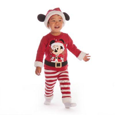 Conjunto camiseta y pantalón para bebé Mickey Mouse, Holiday Cheer, Disney Store