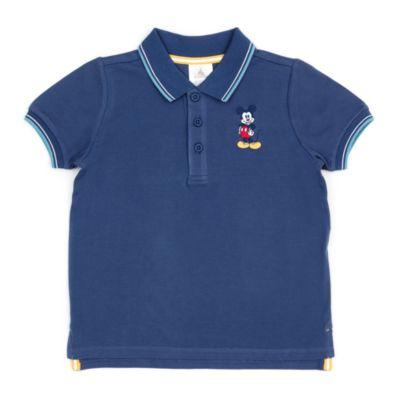 Disney Store Polo Mickey bleu marine pour bébés et enfants