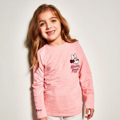 Disney Store T-shirt Minnie rose pour bébés et enfants