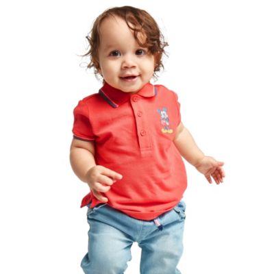 Disney Store Polo Mickey rouge pour bébés et enfants