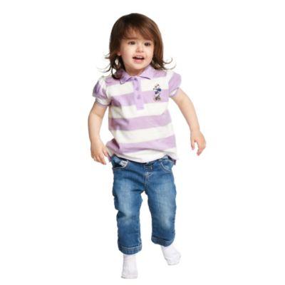 Polo bimbi e baby Minni strisce colorate Disney Store