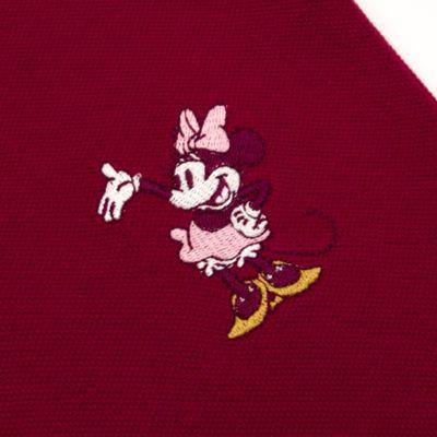 Disney Store - Minnie Maus - Burgunderrotes Langarm-Poloshirt für Babys & Kinder