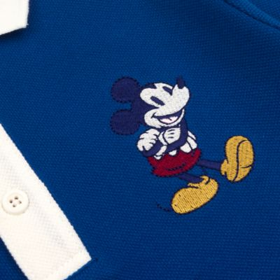 Disney Store Mickey Mouse Long Sleeve Polo Shirt For Toddlers & Kids