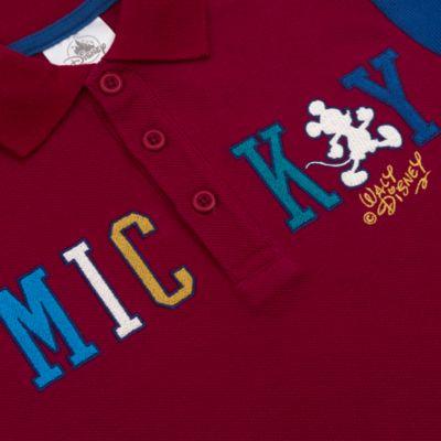 Disney Store Polo Mickey bordeaux pour bébés et enfants
