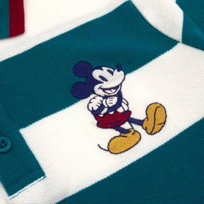 Disney Store Polo à manches longues Mickey rayé pour bébés et enfants