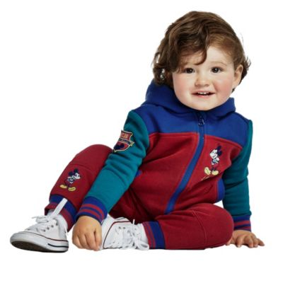 Disney Store Jogging Mickey bordeaux pour bébés et enfants
