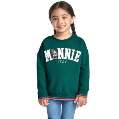 Disney Store Sweat Minnie vert pour bébés et enfants