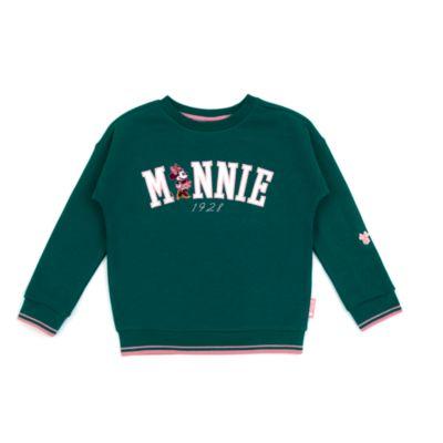 Disney Store - Minnie Maus - Grünes Sweatshirt für Babys & Kinder
