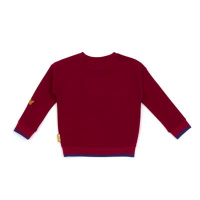 Disney Store Mickey Mouse Burgundy Sweatshirt For Toddlers & Kids