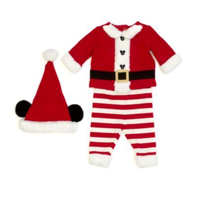 Disney Store Tenue Mickey Père Noël pour bébés