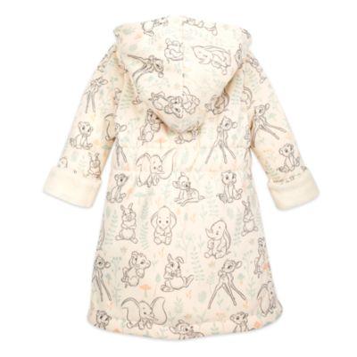 Disney Store Dumbo, Bambi and Simba Baby Dressing Gown