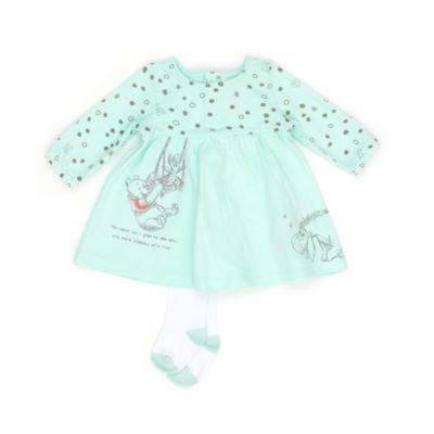 Disney Store Ensemble robe et collants Winnie l'Ourson et ses Amis pour bébés