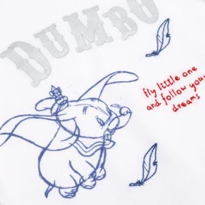 Disney Store Dumbo Baby Long Sleeve Romper