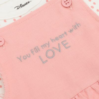 Disney Store Winnie the Pooh and Piglet Baby Dress and Body Suit Set