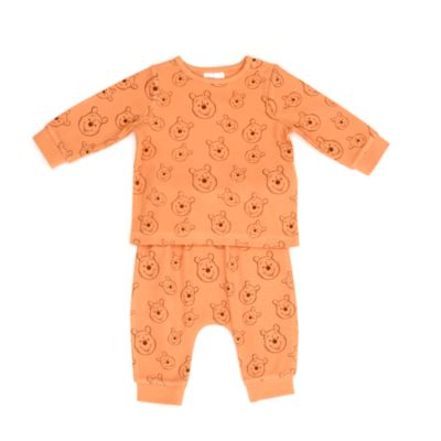 Disney Store Winnie the Pooh Baby Top and Bottoms Set