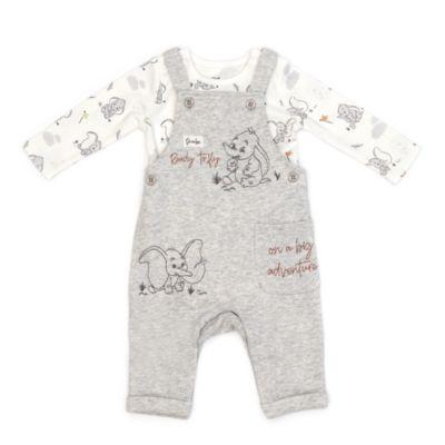 Disney Store Ensemble body et salopette Dumbo pour bébés
