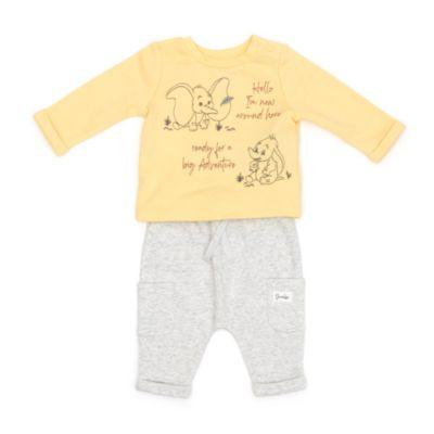 Disney Store Ensemble t-shirt et caleçon Dumbo pour bébé, Disney Store