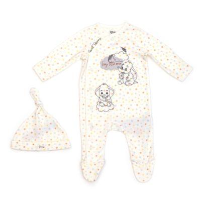 Disney Store Ensemble body et bonnet Dumbo pour bébé