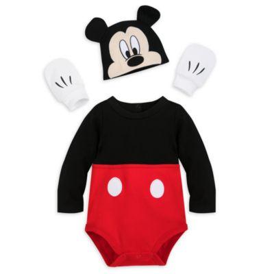 Disfraz tipo body Mickey Mouse para bebé, Disney Store