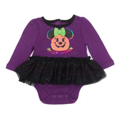 Disney Store Minnie Mouse Halloween Baby Tutu Body Suit