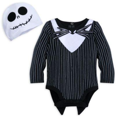 Disney Store Jack Skellington Baby Costume Body Suit