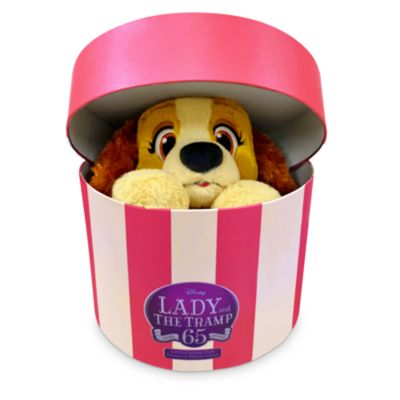 Disney Store Lady Small Soft Toy in Box