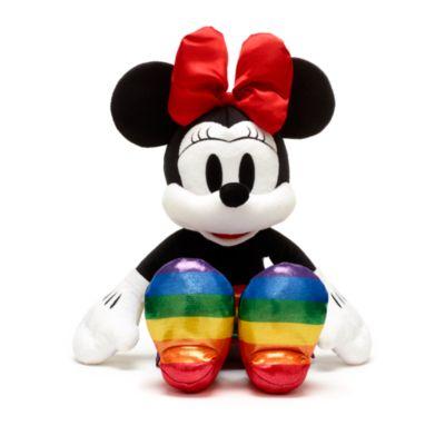 Disney Store Minnie Mouse Rainbow Disney Medium Soft Toy