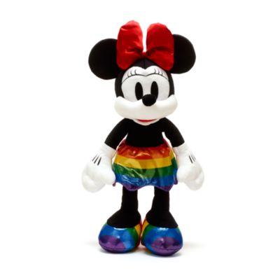 Peluche mediano Minnie Mouse, Rainbow Disney, Disney Store