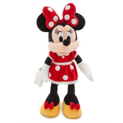 Disney Store Minnie Mouse Red Medium Soft Toy