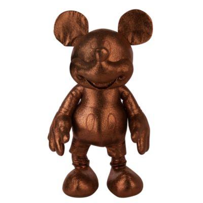 Disney Store Grande peluche Mickey effet bronze