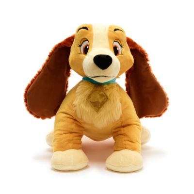 Disney Store Lady Large Soft Toy, Lady and the Tramp