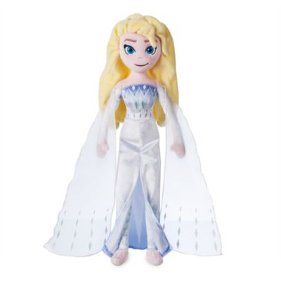 Disney Store Elsa the Snow Queen Soft Toy Doll, Frozen 2