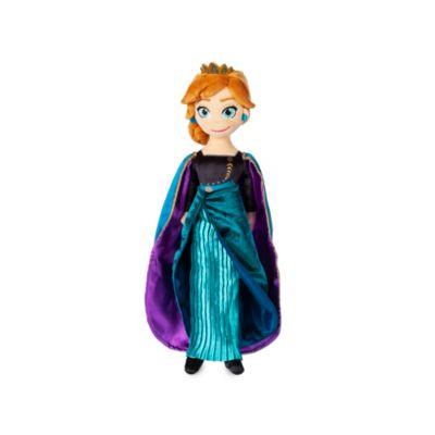 Muñeca de peluche Reina Anna, Frozen 2, Disney Store