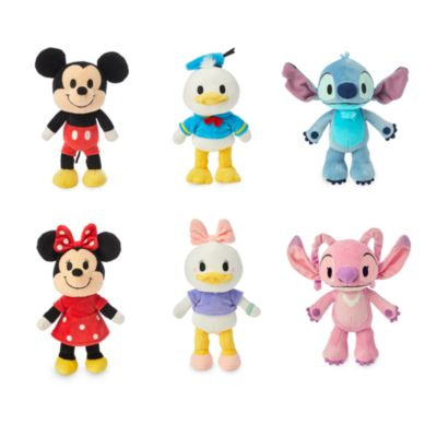 Disney Store nuiMOs Small Soft Toy Collection