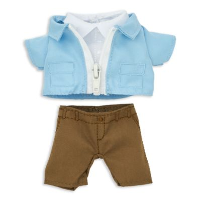 Disney Store nuiMOs Small Soft Toy Pastel Jacket and Trousers Set