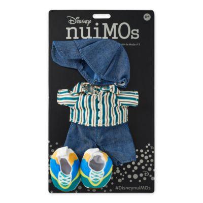 Disney Store Chemise rayée et casquette avec baskets pour petite peluche Disney nuiMOs